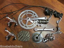 CAMPAGNOLO MIRAGE CENTAUR AVANTI 172.5 53/39  9 SPEED GROUP BUILD KIT GRUPPO