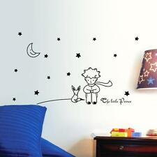 Removable Wall Sticker Stars Moon The Little Prince Boy Quote Decals Home Decor