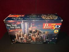 1997 New York, Twin towers 3141 Piece 3D Puzzle (UNCOUNTED PIECES) - RARE!