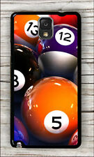 BILLIARD GAME BALLS TABLE POOL CASE COVER FOR SAMSUNG GALAXY NOTE 3 -ksd5Z