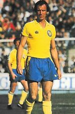 Football Photo PAUL MADELEY Leeds United 1973-74