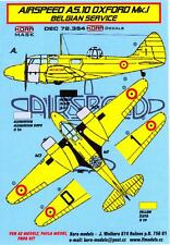KORA Models Decals 1/72 AIRSPEED AS.10 OXFORD Mk.I IN BELGIAN SERVICE with Masks