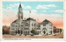 1920's The Post Office & Federal Building in Nashville, TN Tennessee PC