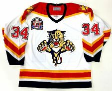 JOHN VANBIESBROUCK AUTHENTIC CCM FLORIDA PANTHERS 1996 STANLEY CUP JERSEY 48