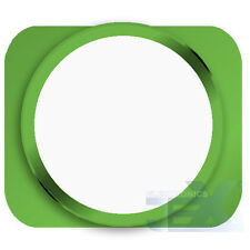 White With Green Trim iPhone 5S Style Look/Looking Home button for iPhone 5/5C