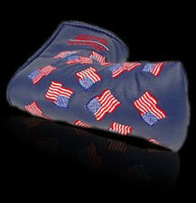 NEW Scotty Cameron 2002 Dancing US Flag Golf Putter Cover BLUE 911 Special