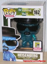 FUNKO POP 2015 SDCC EXCLUSIVE BREAKING BAD BLUE CRYSTAL HEISENBERG #162 In Stock