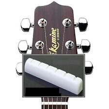 GeetarGizmos SLOTTED BONE NUT made for Takamine Guitar