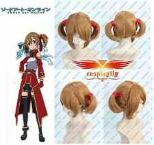 Sword Art Online Silica Keiko Ayano Wig For Cosplay  J0016