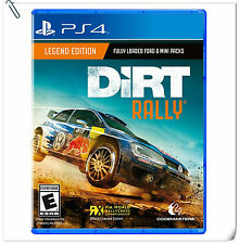 PS4 DiRT Rally SONY PlayStation Codemasters Racing Games