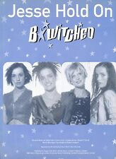 Jesse Hold On - B*witched - 1999 Sheet Music