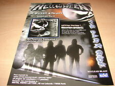 HELLOWEEN - THE DARK RIDE!!!!!!!!!!! PUBLICITE / ADVERT