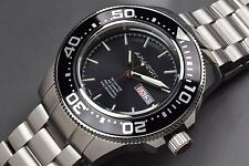 Aragon A066BLK Divemaster T100 Automatic 45mm Watch