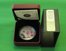 Canada 2012 $20 Fine silver Rhododendron Cao and Box