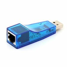 USB 2.0 To LAN RJ45 Network Card For Tablet PC Laptop Adapter Converter