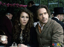 PHOTO SHERLOCK HOLMES  JEU D'OMBRES - NOOMI RAPACE & ROBERT DOWNEY JR/11X15 CM