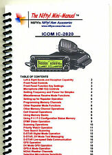 Icom IC-2820 Nifty Operating Guide, IC2820