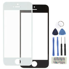 Replacement Outer Glass Screen Lens + Repair Kit for iPhone 5  - Black