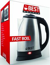 Best Electric Tea Kettle (RAPID BOIL TECHNOLOGY) Cordless - HUGE 2.0L Capacity!