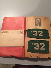 Vintage SUNY Potsdam College Scrapbook, Normal School, Lydia Bemis, Maxcy, 1932