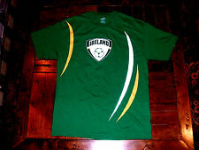 Ireland Green Futbol Soccer T-Shirt Adult Medium 100% Cotton