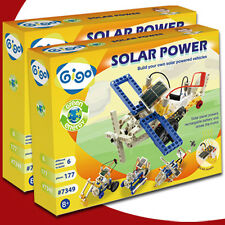 GIGO SOLAR POWER 7349 Solar Enegry Block Toy 177pcs Scientific teaching aid Lego
