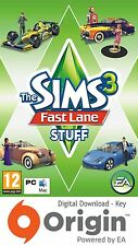 THE SIMS 3 FAST LANE STUFF PACK PC AND MAC ORIGIN KEY