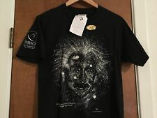 Albert Einstein VTG 1993 Glow In The Dark Galaxy Stars Adult Small T-Shirt • NWT