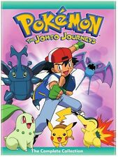 Pokemon: The Johto Journeys - Complete Collection - 4 D (2015, REGION 1 DVD New)