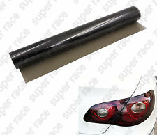 "Nice 16"" X 48"" MEDIUM SHADE SMOKE TAILLIGHT OR HEADLIGHT PVC FILM COVER OVERLAY"
