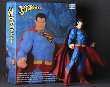 DC COMICS Man of Steel 12'' Superman Clark Kent STATUE FIGURE FIGURINE