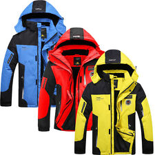 Men Winter Ski Waterproof Snow Warm/Windproof Outdoor Sports Hiking Jacket Coat