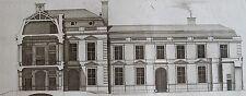 JEAN MAROT (1619-1679): Profil de la maison de l'hostel de Chevreuse diu coste d