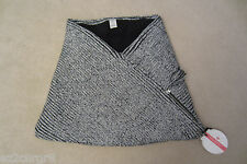 Lululemon Totally Toasty Neck Warmer Nimbus Black Wht Sherpa Fleece Merino Wool