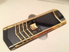 Vertu Signature Design - Golden/Black(Unlocked) Cellular Phone