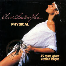 OLIVIA NEWTON-JOHN - Physical [7'04] MAXI 45 TOURS France 1982 Maxi-Single 12""