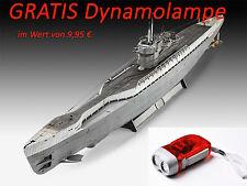 05133 German Submarine Typ IX C/40 1:72 Bauteile/Modellbau Kunststoff von Revell