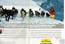 Publicité advertising 1993 (2 pages) Aliment pour chien Royal Canin l'Alpirod