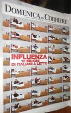 LA DOMENICA DEL CORRIERE 23 dicembre 1969 Influenza Siero di Bonifacio Milano di