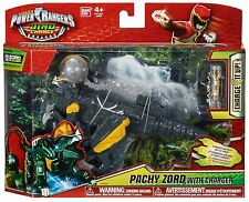 POWER RANGERS DINO CHARGE PACHY ZORD FIGURE WITH CHARGER