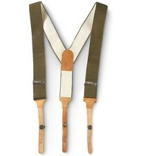 Sale: E German Military Quality Mens pants trousers Suspenders Army Surplus