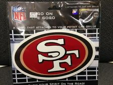 NFL SAN FRANCISCO 49ers Logo on the GoGo not a sticker / decal sign