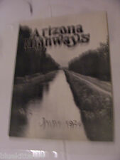 ARIZONA HIGHWAYS MAGAZINE 1926 JUNE HOLBROOK  - SPRINGERVILLE State Line  & MAP