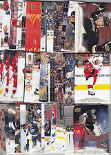 11-12 UD CANVAS LOT w/STARS YOU PICK 5 - OVER 100 DIFF - UPPER DECK 2011-12