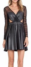 NWT THREE FLOOR CHANCER CUT OUT DRESS IN BLACK ,USA SIZE 2/ stunning dress !