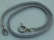 LOVELY 19 CMS LONG 925 SILVER CHAIN BRACELET - 3 GRAMS'