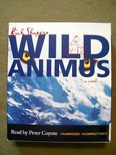Wild Animus by Rich Shapero (2005, 9 CD'S, Unabridged) Read by Peter Coyote