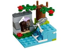New Lego Friends Brown Bear's River.  41046.