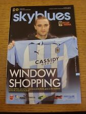 07/02/2009 Coventry City v Wolverhampton Wanderers  (Excellent Condition)
