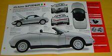1997 Alfa Romeo Spider Convertible 4Cylinder 1970cc EFI Info/Specs/photo 15x9